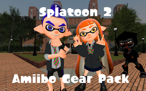 Splatoon 2 Amiibo Gear Pack by DarkMario2