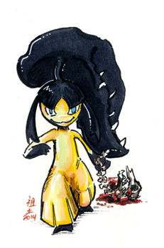 viyas the mawile by not-fun