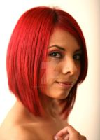 Red Headed Latina by Bristock