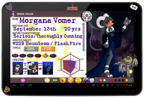 PKMN Armonia - Morgana Vomer [New App] by Powerwing-Amber