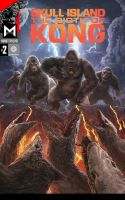 MonsterVerse: Skull Island Birth of Kong Issue #2 by HYPERGODZILLA