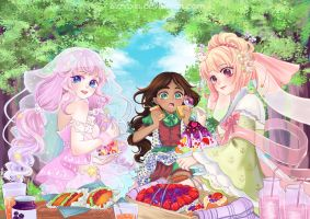 Good day for Berry Picnic!!Berry Fiesta by bizzybiin