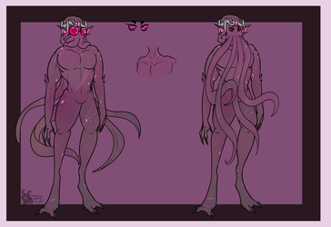 Christoph Illithid Form (Ref) by CannibalHarpy