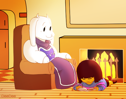 Hanging With The Goat Mom by Artrmotus
