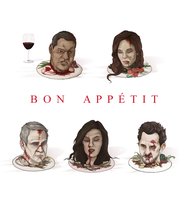 Stay Away from Hannibal Lecter by ShazTheRaz