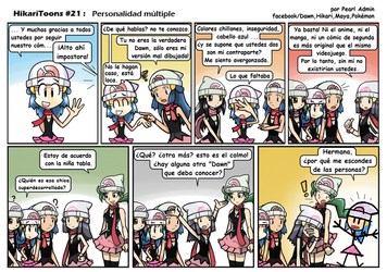 HikariToons #21 - personalidad multiple by Andres2610