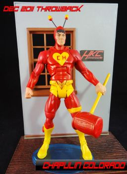 Dc Universe classics Chapulin Colorado by hunterknightcustoms