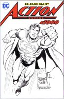 ACTION COMICS 1000 Sketch Cover Grummett/Hazlewood by DRHazlewood