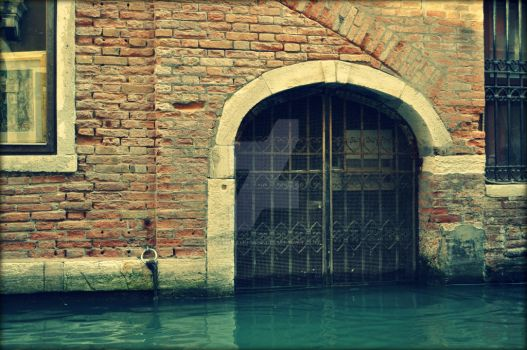 Flooded Entrance by camerahugger