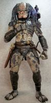 Custom NECA Elder predator by mangrasshopper