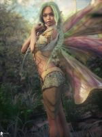 Fairie 8 by LaMuserie