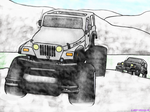 Fun in the snow by JEEP-WRANGL3R