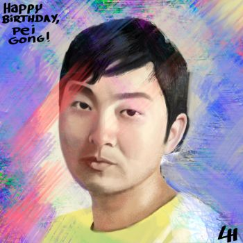 Happy Birthday Pei Gong! by leandroh00