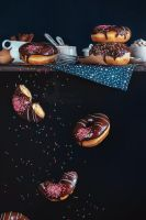 Donuts from the top shelf by dinabelenko