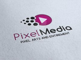 Pixel Media Entertainment Logo by ExtremeLogo