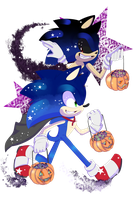 .:Sonic and Sonic.exe are Halloweenie Weenies:. by FlamieDeWynter