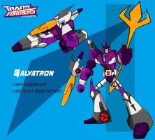 TFA Galvatron by Shadypenpen