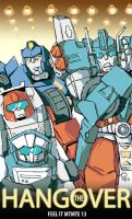 Transformers MTMTE #13 the Hangover by OZ-Clement
