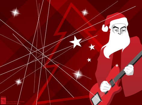 Muse Contest: XMAS BACKGROUND COMPETION 2014 by MagixDay