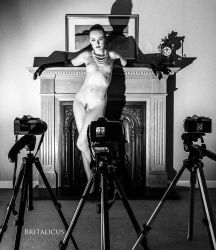 In front of the camera by Britalicus