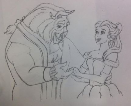 Tale As Old As Time by STARLAAA