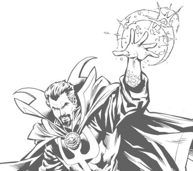 Doctor Strange preview by aka-EX
