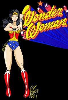 Wonder Woman Classic by Inspector97