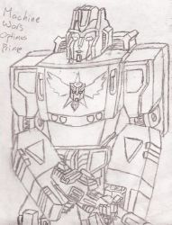 League of the Convoys: Machine Wars Optimus Prime by UnicronHound