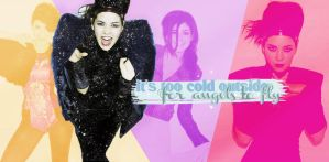 It's Too Cold (Wallpapper que intenta ser light) by Galaxy-Love
