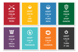 Keep Calm Posters Ver. 2.0 by Lycanstrife