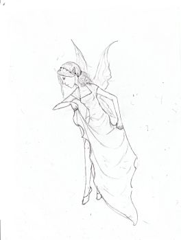 Faerie sketch by Ashriel-kid-of-Voldy