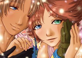 FFX:Tidus + Yuna: Is That You? by musechan