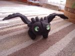 Toothless Plushie by Supernatural28