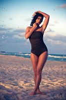 Agnessa in the one piece by Kama-Photography