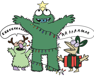 Xmasmonsters by tacbot89