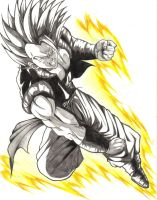 Gogeta by thedeependcrossfade