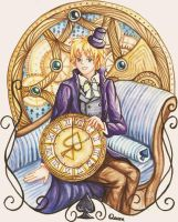 Queen of spades - Hetalia Cardverse by 1412s-assistant