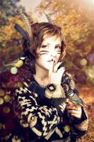 Silent autumn by Katie-Watersell