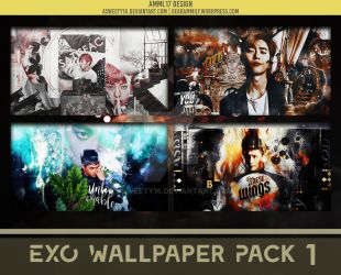 EXO WALLPAPER PACK 1 by Asweety16