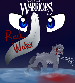 Warriors Comic: Red Water Cover by TheSoaringSky