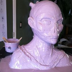 Christopher Carrion Mold by DaveRichardsonArt