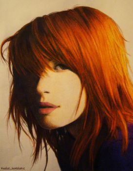 Hayley Williams by kuatas