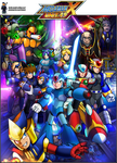 Mega Man X: Unit 49 Cover Art by IrregularSaturn