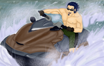Qeurt's Water bike by Atey