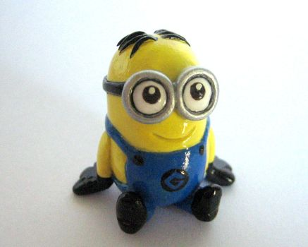 Dave the Minion by DragonsAndBeasties