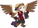530 - Steampunk Sky Pirate by TheKingdomOfGriffia