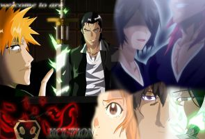 Bleach fullbring arc 'welcome to are Xcution' by greengiant2012