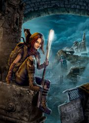 Willow and the City of Miciran by DougSirois