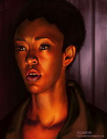 Sasha Williams - The Walking Dead by ThatsSoMaeven