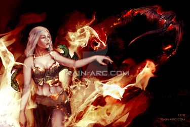 Daenerys from Game of Thrones by LorBot
